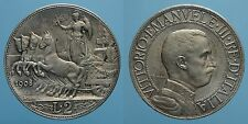REGNO D'ITALIA VITT.EMAN.III 2 LIRE 1908 QUADRIGA VELOCE SPL