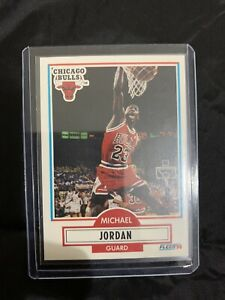 1990 Fleer Michael Jordan Card #26