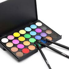 28 couleurs fard à paupières palette Smokey maquillage oeil nu cosmétique