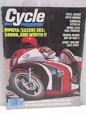Vintage Cycle Magazine September 1978 Bimota Suzuki SB2 PE175 Enduro Kawasaki