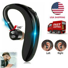 Bluetooth Earpiece Wireless Headphone Hd Voice for Samsung S20 5G S10 A51 iOs Lg