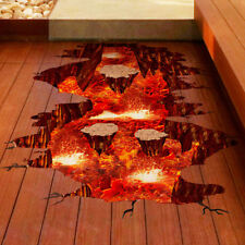 Magma 3D Wall Sticker Home Decor Living Room Bedroom Floor Decoration Removable