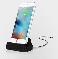 Desktop Charger STAND DOCK STATION Sync Charge Cradle for Apple iPhone 6s 6 5 SE