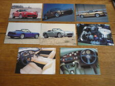 TVR  CHIMEARA  FACTORY ISSUED POSTCARDS X 8 - BROCHURE CONNECTED