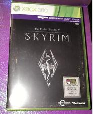 The Elder Scrolls V: Skyrim Xbox 360 jeu Bethesda Microsoft Kinect