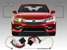 LED DRL Adapter Harness Module For 16-17 Honda Accord 4D LX to SPORT Headlight