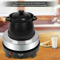 220V 500W Mini Electric Stove Hot Plate Multifunction Kitchen Heater U0Z2