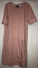 Gap Kids Girls Pink Zipper Dress Sweatshirt Material Sz 12 XL 3/4 Sleeve