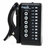 Cherub WST-550G Stimmgerät - Automatisches Gitarren LED Stimmgerät zum Anklippen
