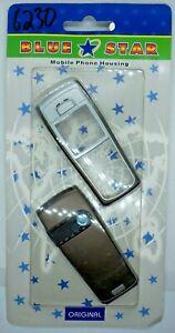Nokia 6230/6230i Mobile Phone Fascia/Cover/Housing BLACK/SILVER Colour
