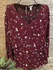 Arizona Jean Co 3/4 Sleeve Blouse Top Plus Size 2X