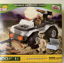 COBI 2197 Mobile Infantry Post Building Set Small Army New