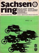 Sachsenring-Rennen Hohenstein-Ernstthal/Weltmeisterschaftslauf 1972/ Wüstenbrand