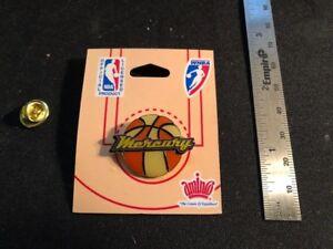 NEW Phoenix Mercury Pin - WNBA Licensed - Butterfly Pin Back