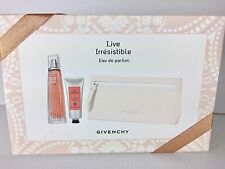 LIVE IRRESISTIBLE By Givenchy WOMEN GIFT SET 2.5 OZ + BODY CREAM + POUCH NEW BOX