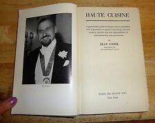 1953 Haute Cusine by Jean Contil - Hard Cover Cloth - No Jacket - Great Britain