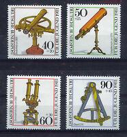 ALEMANIA/RFA WEST GERMANY 1981 MNH SC.B583/B586 Historic optical instruments