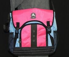 New CROCS Cross body/Lap top/shoulder/ Messanger bag Nylon Multi-color