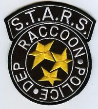 FANCY DRESS HALLOWEEN COSTUME PATCH: Resident Evil STARS Raccoon City Police c