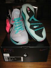Nike Air Max LeBron 9 IX PS Elite South Beach sz 13 DS Pre Heat Miami 516958-001