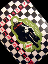 Classic Castrol Sticker for  CB400 CB250 C92 CB92 CB450 CD125 CR125 Cafe Racer