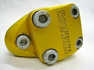 Vintage Schwinn BMX Handle Bar Stem Aluminum Alloy Double Clamp Sugino Japan OE