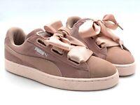 PUMA Suede Heart Pebble Wn´s Great Loop Blogger Rosa / Peach Damen Sneakers