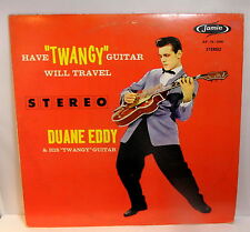 "DUANE EDDY / HAVE ""TWANGY"" GUITAR WILL TRAVEL - Stereo LP"