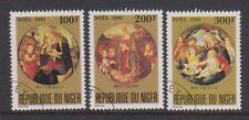 Niger - 1981, Christmas set - CTO - SG 880/2