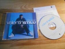 CD Pop Valentin Stilu - Das Spiel (3 Song) Promo EASTWEST sc / + Presskit