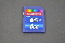 Transcend 8GB Class 6 SDHC Memory Card DH9052