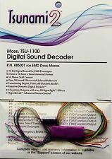 DCC decoder Soundtraxx TSU-1100 Tsunami2 Digital Sound Decoder for EMD Diesels