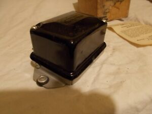 6 Volt Neg Ground Delco Remy Voltage Regulator Vintage US Made For DC Generator