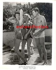 Vintage John Bromfield Marla English Sara Shane SEXY SWIMSUIT '52 CU Portrait