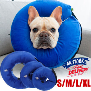 Inflatable Collar Wound Cone Protection Soft Medical Pet Dog Healing