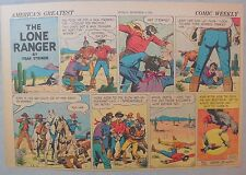 Lone Ranger Sunday Page by Fran Striker and Charles Flanders from 12/6/1942