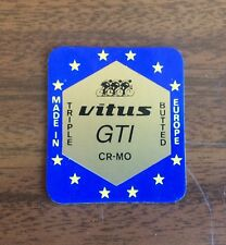 Original Stickers - Vitus GTI - Fork and Frame Decalcs