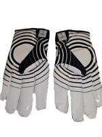 "New Adidas Black/White Receiver Football ""Supercharge"" Gloves Mens 3XL 3XLarge"