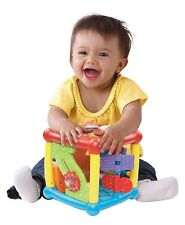 Cubo De Aprendizaje Para Bebés Estimulación Sensorial Sonidos Colores Vtech