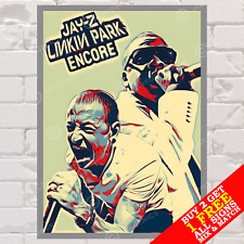 More details for metal sign linkin park jay-z hip hop rap music art wall decor photo poster home