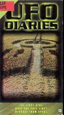 VHS: UFO DIARIES VLOUME 1......FIRST UFO's-WHAT ARE THE LIKE?-MESSAGE FROM SPACE