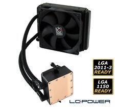 LC-Power - Wasserkühlung LC-CC-120-LiCo für Intel- & AMD-CPUs  - 120mm-Lüfter
