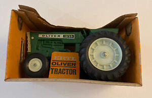 OLIVER MODEL 1855 Wide Front Toy Farm Tractor Ertl, Orig. Box