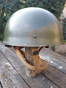 WW2 British Paratrooper Helmet Mk. II 1944 D-Day. Para helmet.  Airborne.