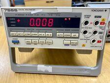 YOKOGAWA 7555 Multímetro Digital 5 1/2 dígitos