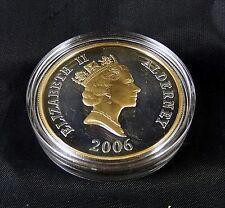 Queen Elizabeth 80th Birthday Alderney 2006 Silver .925 £5 Proof Coin