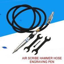 Engraving Lettering Tool Pneumatic Air Scribe Hammer Hose Engraving Pen