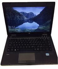 """HP ProBook 6470b Core I5-3230M, 2.6GHz 14"""" Laptop 4GB RM/320GB HDD, Win10 Pro HD"""
