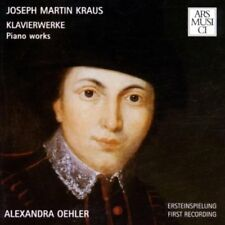 Oehler, Alexandra-Joseph Martin Kraus piano oeuvres-piano works CD neuf emballage d'origine