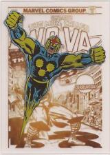"Marvel Greatest Battles - GC10 Rewards Gold Covers ""Nova"" Plastic Card"